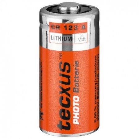 Batterie Tecxus Lithium CR 123 A