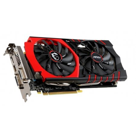 La scheda video MSI GTX 970 GAMING 4G