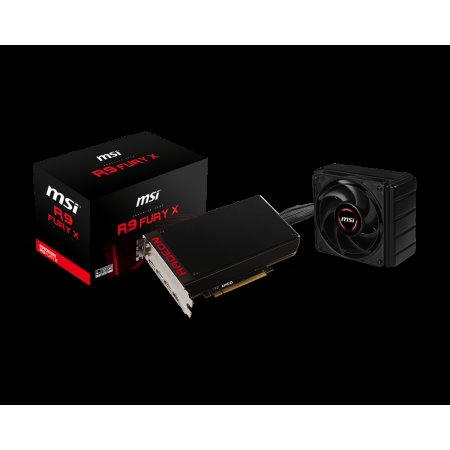 Scheda video MSI Radeon R9 Fury X da 4G