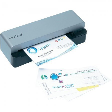 scanner per biglietti da visita